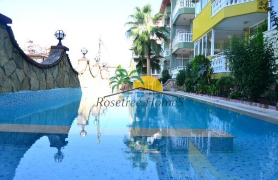 2+1 fully furnished apartment at Alanya Castle
